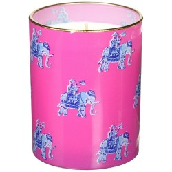 Lilly Pulitzer Glass Candle 153220, Bazaar