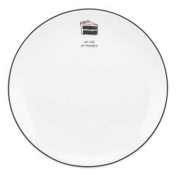 Kate Spade New York Round Cause A Stir Cake Accent Plate