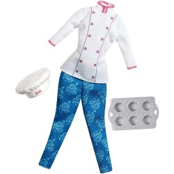 Barbie Careers Fashions - Pastry Chef