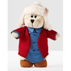 Starbucks Limited Edition Girl Bearista Bear 118 with Robe, Nightgown and Cap