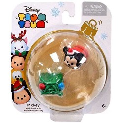 Disney Tsum Tsum Mickey Mouse Stackable Holiday FIgure