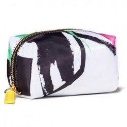 Sonia Kashuk Face Print Soft Cosmetic Case