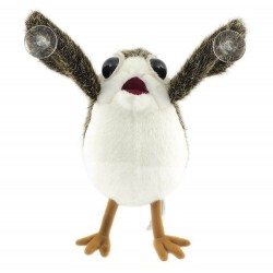 Star Wars the Last Jedi Porg Plush on Board Figure with Suction Cup