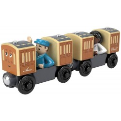 Thomas and Friends Annie and Clarabel Coaches with Figures