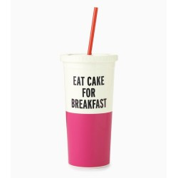 Kate Spade New York Eat Cake For Breakfat Insulated Cold Tumbler