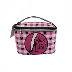 Izak Cosmetic Train Case Bag - I've Been Chiced