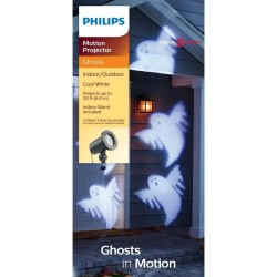 Philips Halloween Ghosts LED Motion Projector