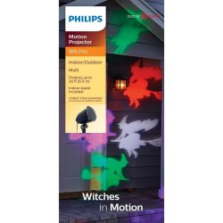 Philips Halloween Witches LED Motion Projector
