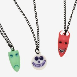 The Nightmare Before Christmas Oogie's Boys Necklace Set