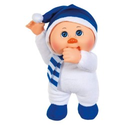 """Cabbage Patch Kids Holiday Helpers Douglas Snowman 9"""" Doll Plush"""
