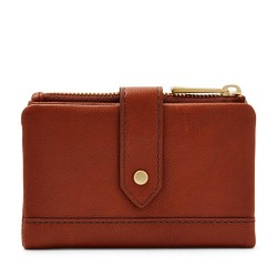 Fossil Brown Lainie Multifunction Leather Wallet