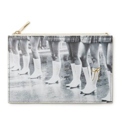 Kate Spade New York Retro Graphics Kick Up Your Heels Pencil Pouch