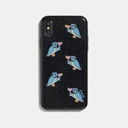 Coach iPhone X Case with Party Owl Print