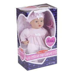 Melissa and Dough Mine To Love Jenna Soft Body 12-Inch Baby Doll