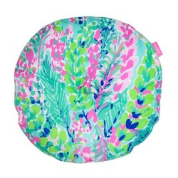 Lilly Pulitzer Catch the Wave Round Pillow