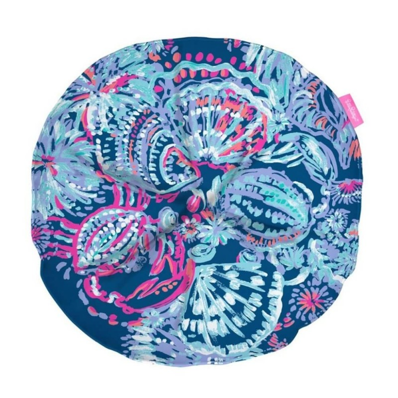 Lilly Pulitzer Gypsea Girl Round Pillow