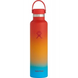 Hydro Flask Keiki Rainbow Limited Edition Guava Shave Ice Standard Mouth Water Bottle 24 Fl Oz