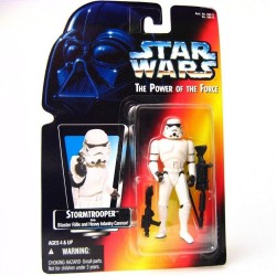 Star Wars Stormtrooper with Blaster Rifle and Heavy Infantry Cannon Action Figure