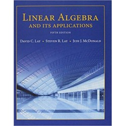 Linear Algebra and Its Applications (5th Edition)  Fifth Edition