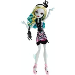 Monster High Firghts Camera Action Black Carpet Lagoona Blue Doll