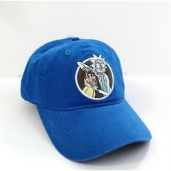 Rick and Morty Embroidered Blue Baseball Cap Hat