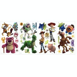 RoomMates Toy Story Removable Peel and Stick Wall Decals RMK1428SCS