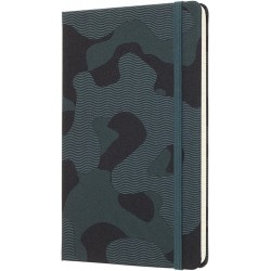 Moleskine Nomad Camo Green Large Ruled Hardcover Notebook Limited Collection